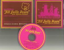 KANYE WEST w/ SYLEENA JOHNSON All Falls Down RARE CLEAN TRK USA PROMO CD Single