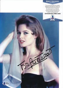 Brigitte Bardot Sexy Actress Signed Autograph 8x10 Photo Beckett BAS COA #6