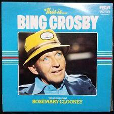 THIS IS...BING CROSBY DOUBLE VINYL LP AUSTRALIA
