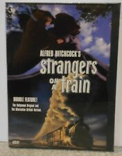 Strangers on a Train (Dvd 1997) Rare Original + British 1951 Crime Thriller New