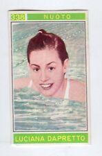 figurina - CAMPIONI DELLO SPORT PANINI 1967/68 - NUMERO 338 NUOTO DAPRETTO