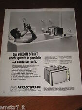 AE11=1968=VOXSON SPRINT TV RADIO HI FI=PUBBLICITA'=ADVERTISING=WERBUNG=