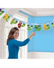 TELETUBBIES LA la po FESTA HAPPY BIRTHDAY Aggiungi un'età lettera banner decorativo