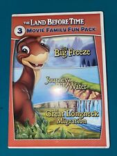 The Land Before Time * 3-Movie Family Fun Pack * 8-9-10 / VIII-IX-X * DVD