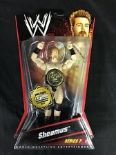 AUTOGRAPHED WWE Sheamus (Series 7) Limited Edition Figure #1000 Belt *New