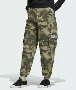 Adidas Womens Originals Track Pants Hemp Camouflage ED7457 Size XS NWT $80