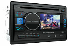 "Power Acoustik PD-342 3.4"" Double-Din Car Monitor DVD/CD/USB/SD Player Receiver"