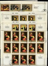21x Soviet Union  CTO Art Paintings 1985  Full folded sheets  [A83