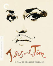 Jules And Jim (Blu-ray Disc, 2014, 3-Disc Set, Criterion Collection)