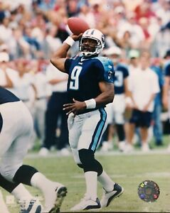STEVE McNAIR Tennessee Titans 8X10 ACTION PHOTO #1  TENNESSEE TITANS