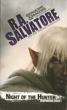Night of the Hunter by R. A. Salvatore (2014, Paperback~Mint)