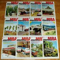 12x MiBa 1994 Miniaturbahnen komplett Hefte 1-12 Sammlung Modellbahn Eisenbahn