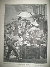 CARCASSONNE FOUR DE CAMPAGNE SERVICE DE LA BOULANGERIE BATAILLE VILLASAVARY 1887