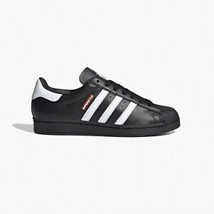 NEW adidas Consortium SUPERSTAR 50 RUN DMC Fx7617 Black White Mens Shoes n1