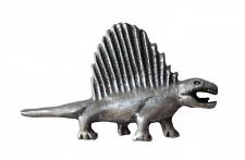 Dimetrodon Dinosaur Pewter Pin Badge