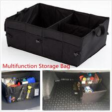 1PCS Foldable Waterproof Black Car Trunk Cargo Storage Box Bag Organizer Case