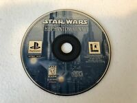 Star Wars Phantom Menace - Playstation 1 PS1 - Cleaned & Tested