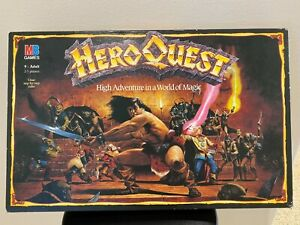 Hero Quest Board Game (UK Edition) (1989)