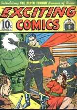 Exciting Comics #9 Photocopy Comic Book, Black Terror