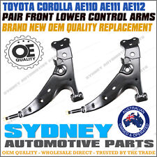 OE QUALITY for Toyota Corolla AE110 AE111 AE112 Pair Front Lower Control Arm L&R