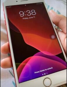 Used iPhone 7 Plus Product Red 128GB