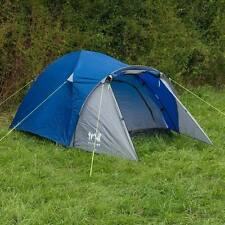2 Man Peak Dome Tent With Porch Camping Festival Quick Easy Pitch