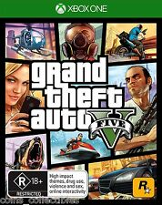 Grand Theft Auto V -  Free Express Post - GTA 5 (Xbox One Game)