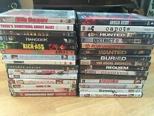 Lot of 30 Movies DVD's Super Heroes Action Comedy Thrillers Drama Juno Iron Man