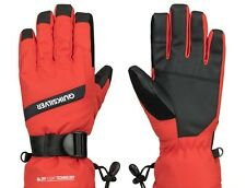 Quiksilver mission youths Gloves red Snow gloves Size medium new eqbhn03000