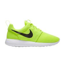 Nike Roshe One Running Shoes Volt Black White 511881 701 Men's NEW sz. 11.5 RARE