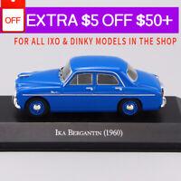 1/43 IXO IKA BERGANTIN (1960) Blue Die Cast Car Model Rare Collection