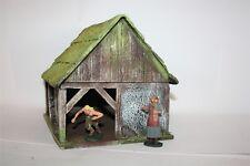 Scheune, Stall, offenes Gebäude 2542, zu 7cm,  Resin, Diorama, History Tale