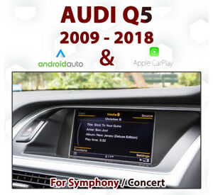 [Touch] Audi Q5 2009-17 Touch overlay Apple CarPlay & Android Auto Integration