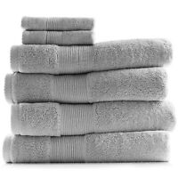 6 Piece Towel Set 700 GSM Ultra Soft 100% Cotton Towels Bath & Washcloths Set