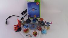 Disney Infinity 2.0 Xbox 360 game with 8 figures