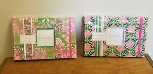 2 Lilly Pulitzer 4x6 Photo Books 24 Page Album Pink Green, New