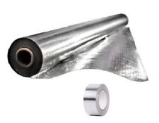 "1000 sqft Radiant Barrier Perf Mylar Scrim Insulation 4x250 w/ 2"" Foil Tape Kit"