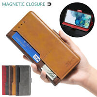 For Samsung Galaxy Note20 Note10 Lite Leather Wallet Case Kickstand Card Pocket
