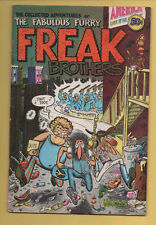 Fabulous Furry Freak Brothers #1 Rip Off Press 1971 1st Printing Shelton VG