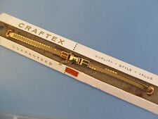 """NEW 12K Gold Filled Craftex Ladies Watch Band..5 5/8"""" Long"""