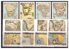 Südafrika Bophutswana Landkarten postfrisch