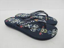 ¡Nuevo! Roxy Bermudas Infantil Chanclas Sandalias en Azul Juventud Talla:1