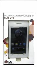 LG Optimus (GT540) Clear Silicon Case (CCR-210)