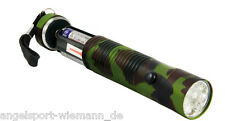 ARCA 12 LED- Aluminium Torch Camouflage incl. Batterie 15000 MCD SUPER LIGHT