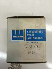 NEW OEM Genuine Walbro carburetor- WA45