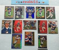 1996+ TERRY GLENN Rookie-Refractor Lot | Artist's Proof /500 SP Premier Patriots