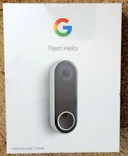 Google Nest Hello Smart Video Doorbell - NC5100US  *NEW*