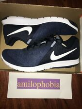 separation shoes 31793 e804a New Men s Nike Flex Experience RN 6 Size 15 Obsidian White Running Shoes