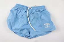 Vtg 80s New Umbro International Youth Large Spell Out Soccer Shorts Argentina