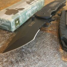 MTech US Army Tactical Folding Knife Assisted Open G-10 Handle Serrated NEW